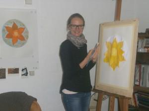 Christiane beim Malen2